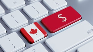 canadian dollars for casino e-transfer deposit by interac