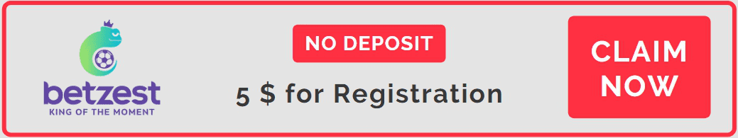 BetZest No Deposit Welcome Bonus