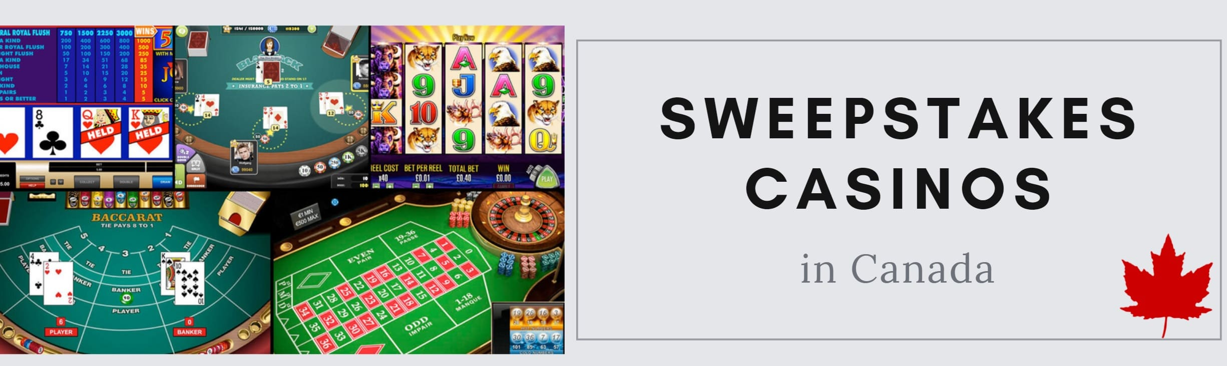 sweepstakes casinos Canada